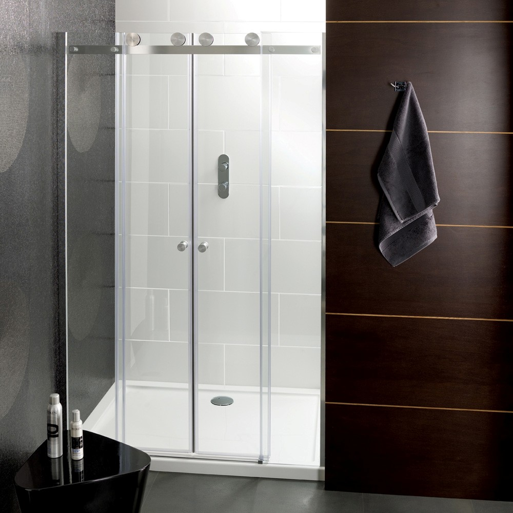 Frameless Glass Shower Doors Replacement - Bathroom shower door repair